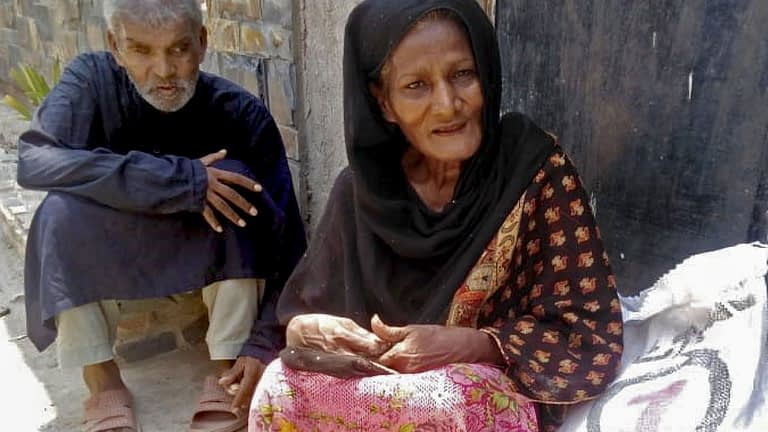 Villagers in the Diocese of Lahore, Pakistan
