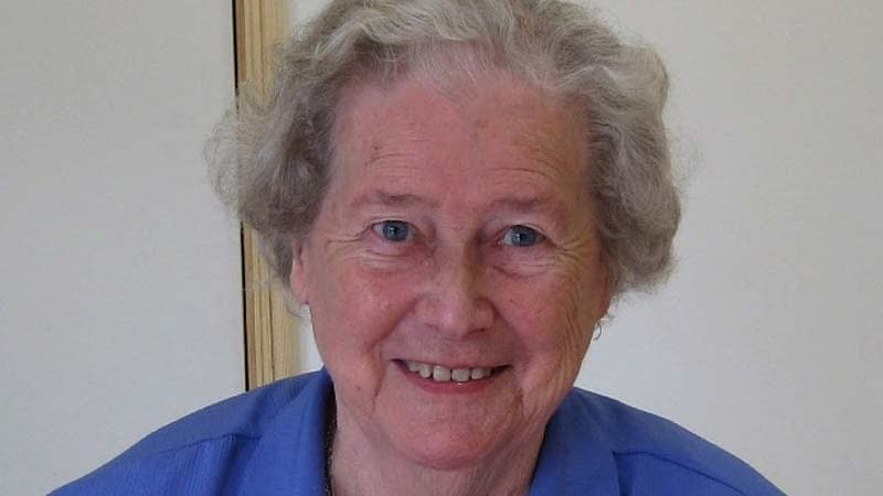 A recent photo of Margaret