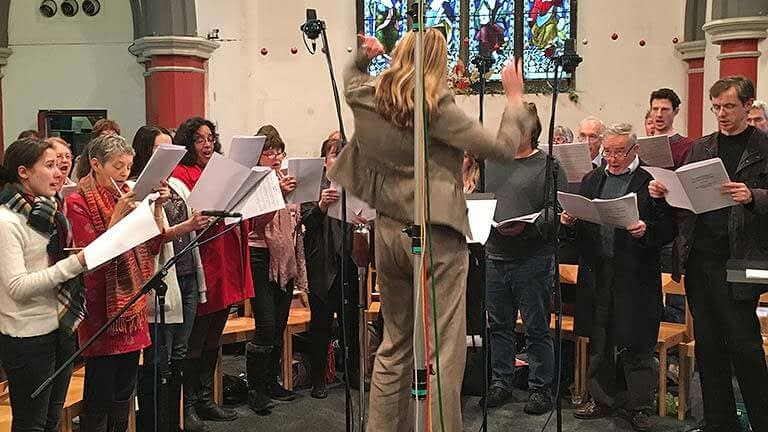 Highlights of New Year's Day radio broadcast from Emmanuel
