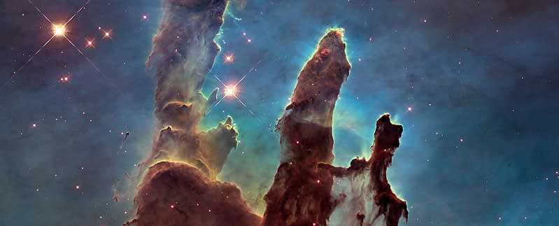 Detail of the Pillars of Creation